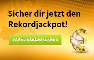 Jetzt Eurojackpot spielen!