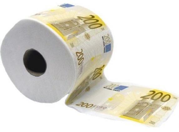 Geld-Klopapier