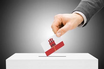 Wahlurne in Gibraltar