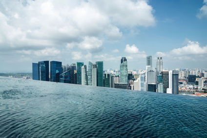 Infinity Pool Marina Bay Sands Singapur