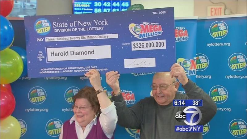 Gewinner der Lotterie MegaMillions