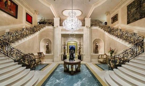 Eingangsbereich der derzeit teuersten Immobilie der USA