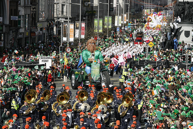 St. Patricks Day Parade in Dublin