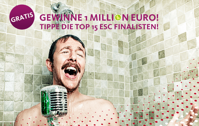 Beim Eurovision Song Contest 1 Million gewinnen!