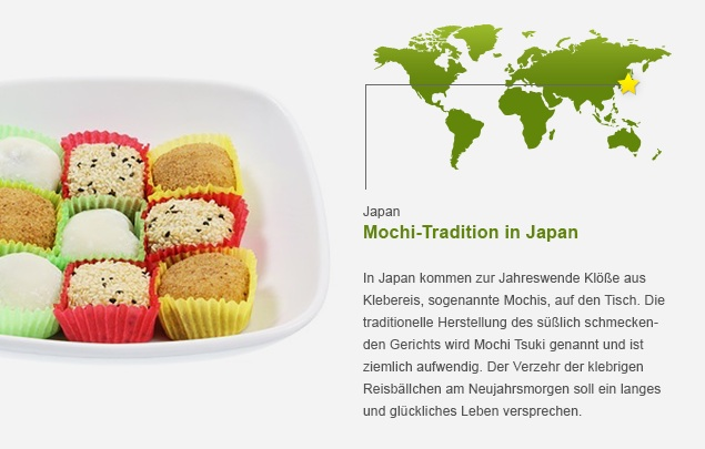 Grafik zur Mochi-Tradition in Japan
