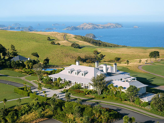 Kauri Cliffs Lodge New Zealand