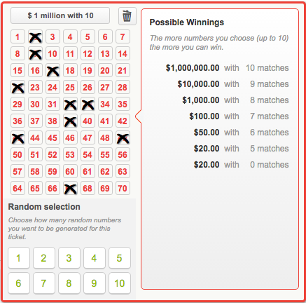 Every 2 minutes prizes for powerball