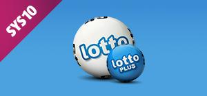 Zakład SYS10 na lotto i lotto PLUS