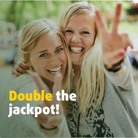 Double the jackpot