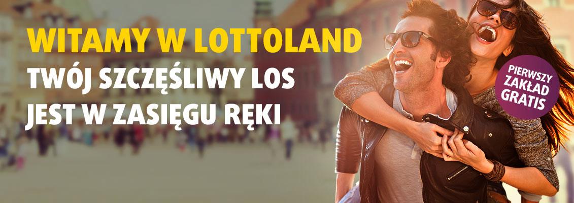 Witamy w Lottoland - pierwszy zakład GRATIS