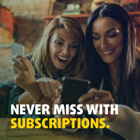 1 in 5 prizes are won with subscriptions