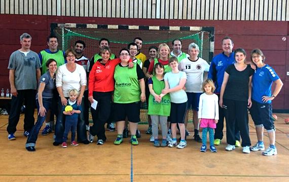 Handballmannschaft Wiesel