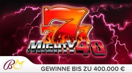 mighty 40 spielen