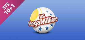 Zakład MegaMillions SYS 10+1