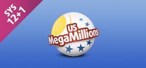Zakład MegaMillions SYS 12+1