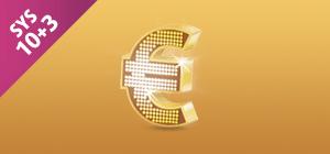 Zakład EuroJackpot SYS 10+3