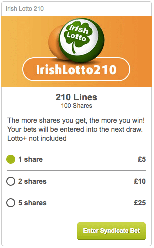 Irish Lotto 17+