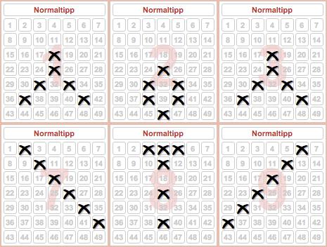 Meisten Lottozahlen