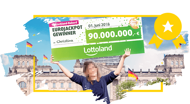 Lottoland Rekordgewinnerin Christina - EuroJackpot