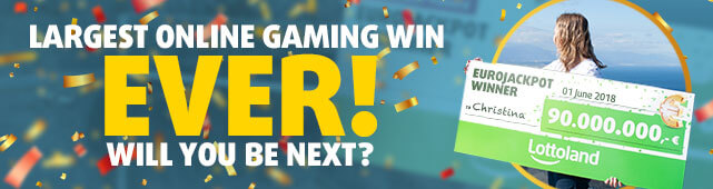 Largest online gaming win ever!
