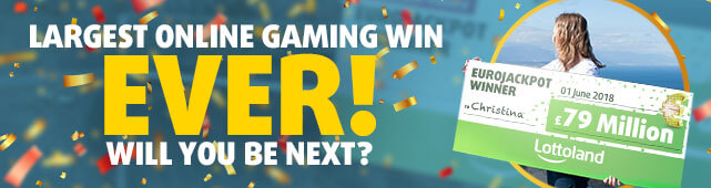 Largest online gaming win ever! Will you be next?