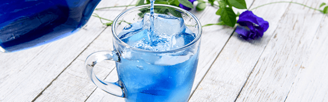 Food-Trend Butterfly Pea Tea