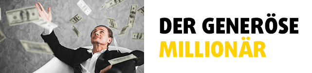 Der generöse Millionär