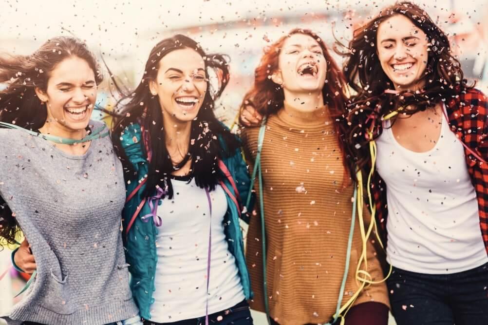 Feier zu Ehren des EuroMillions Gewinners in Portugal