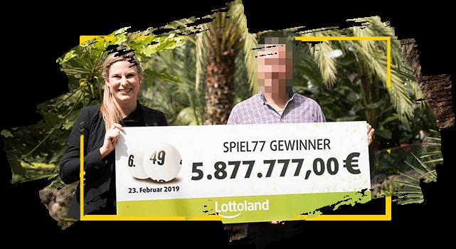 Lottoland Gewinner - Spiel 77