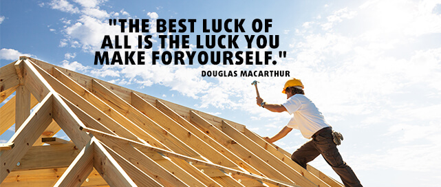 Douglas Macarthur Quote about Luck