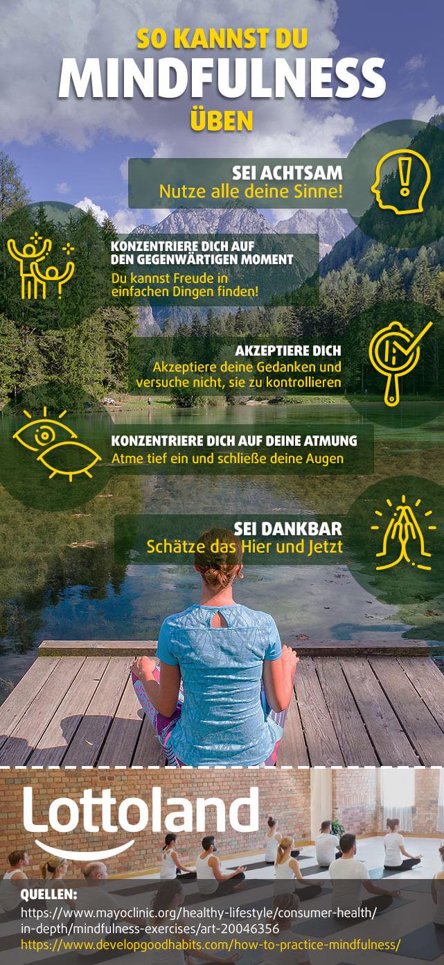 So kannst du Mindfulness üben