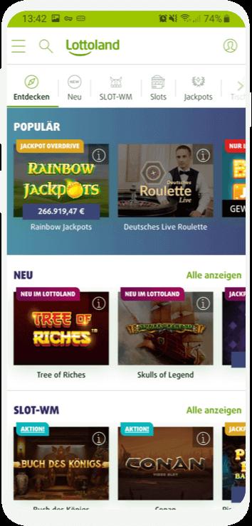 Lottoland Com App