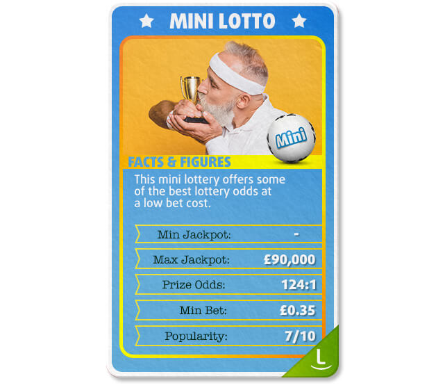 Mini Lotto from Poland is one of the cheapest lotteries to bet on