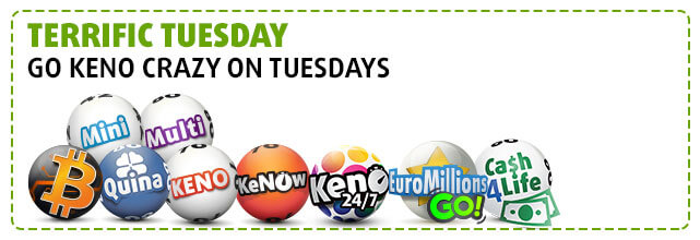 Our Lotteries on Tuesday