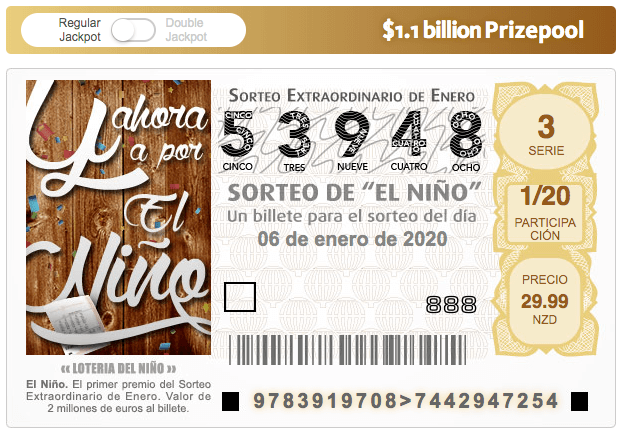 El Nino Lottery Ticket