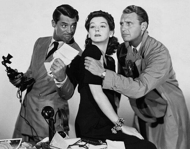 Cary Grant and other stars from the Golden Era of Hollywood