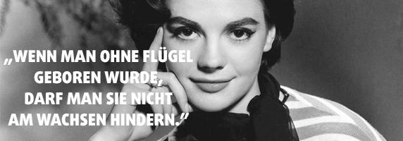 """""""Wenn man ohne Flügel geboren wurde, darf man sie nicht am Wachsen hindern."""" - Coco Chanel"""