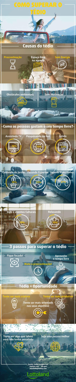 Ótimas dicas de como superar o tédio em casa - infográfico