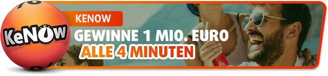 KeNow - Gewinne 1 Mio. Euro alle 4 Minuten
