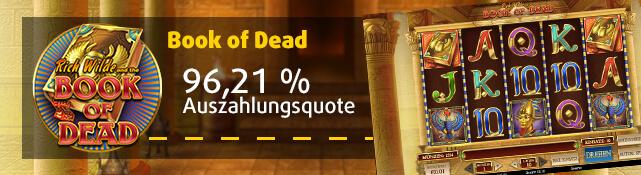 Book of Dead online im Lottoland spielen