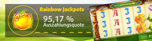 Rainbow Jackpots online im Lottoland spielen