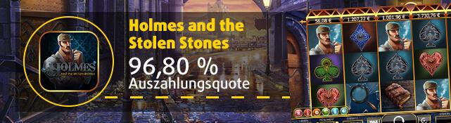 Holmes & the Stolen Stones online im Lottoland spielen