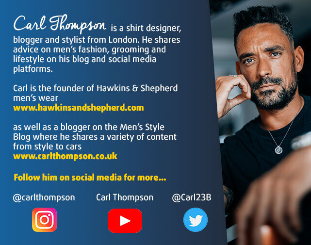 Carl Thompson - Fashion Influencer
