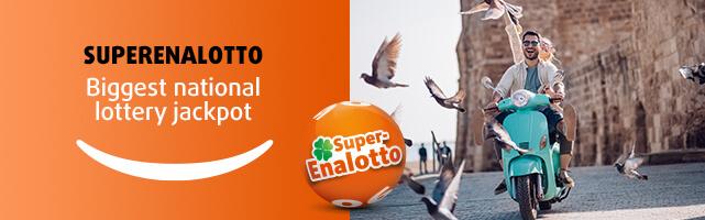 SuperEnalotto - Biggest national lottery jackpot