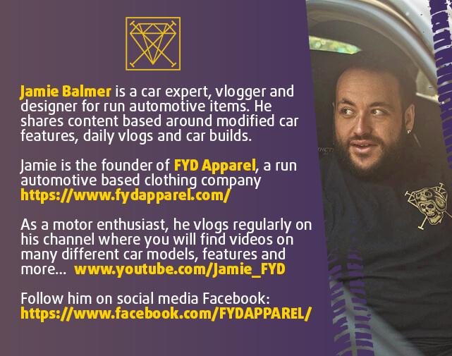 Jamie Balmer - Car Influencer