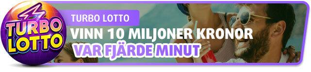 Turbo Lotto - Vinn 10 miljoner kronor var fjärde minut